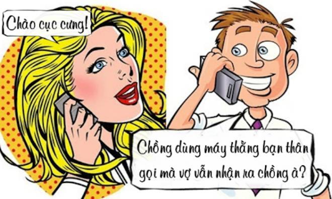Khi gọi cho vợ bằng điện thoại thằng bạn thân - 1