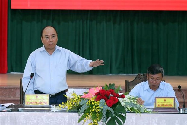 Thu tuong Nguyen Xuan Phuc kiem tra tien do Du an san bay Long Thanh hinh anh 3