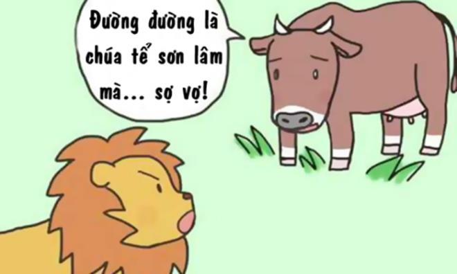 Sư tử sợ vợ nhưng vẫn to mồm - 1