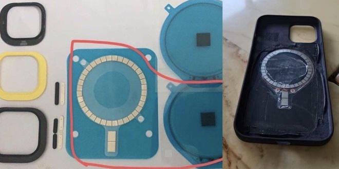 Bo phan moi cho sac khong day cua iPhone 12 Pro Max anh 1