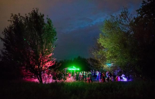 Phớt lờ COVID-19, dân châu Âu tổ chức tiệc thâu đêm ở công viên - 2