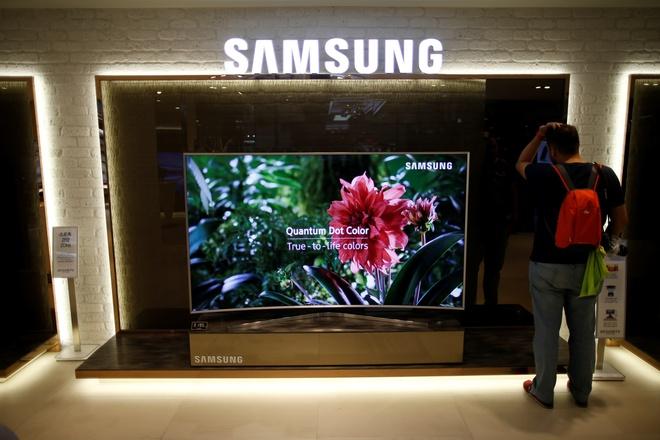 Samsung chuyen day chuyen san xuat tivi tu Trung Quoc sang Viet Nam anh 1
