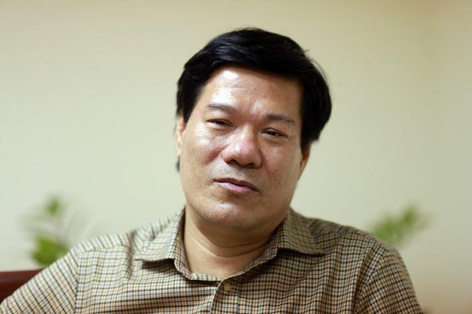 Ông Nguyễn Nhật Cảm trước khi bị bắt. Ảnh:Tất Định