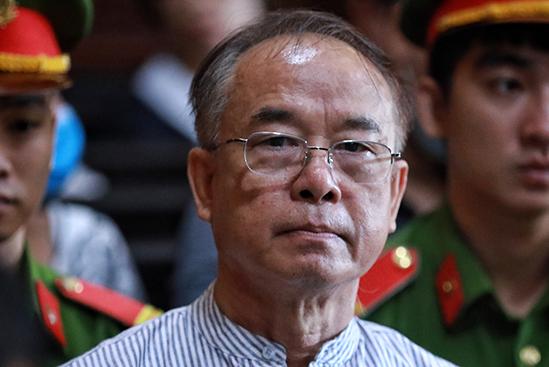 Bị cáo Nguyễn Thành Tài tại toà sáng 20/9. Ảnh: Hữu Khoa.