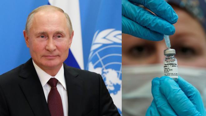 Ông Putin chào hàng vaccine Sputnik V, đề nghị cấp miễn phí cho nhân viên LHQ - 1