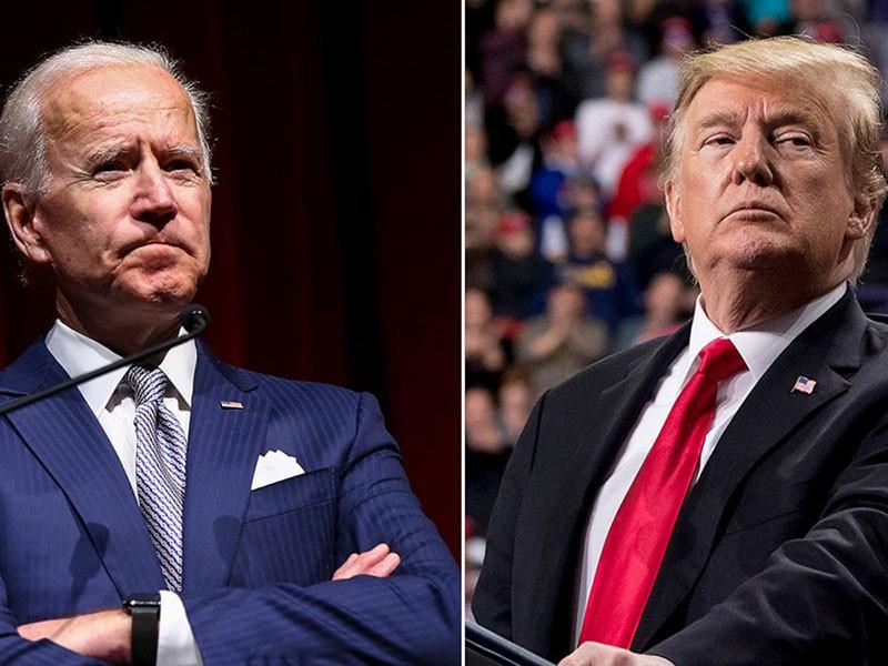 Tranh luận bầu cử Mỹ: Ông Biden tự tin, ông Trump thận trọng - ảnh 1