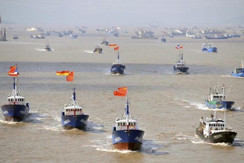 """Bắc Kinh – Washington """"khẩu chiến"""" về chuyện tàu cá Trung Quốc - ảnh 1"""