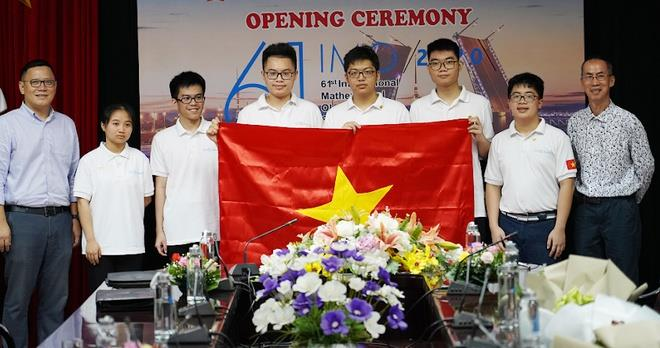6 học sinh Việt Nam thi Olympic Toán quốc tế đều có giải - 1