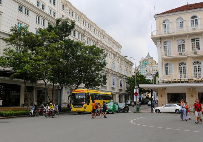Theo đề án, đường Đồng Khởi, quận 1 sẽ được quy hoạch trờ thành tuyến phố đi bộ. Ảnh: Quỳnh Trần.