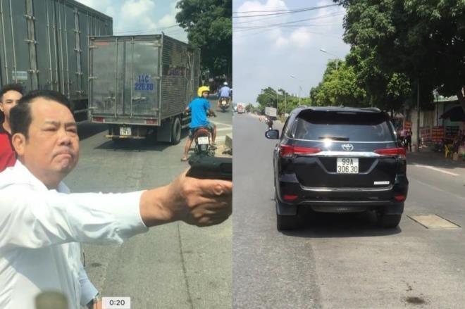 Truy tố giám đốc công ty bảo vệ cầm súng dọa bắn tài xế xe tải - 1
