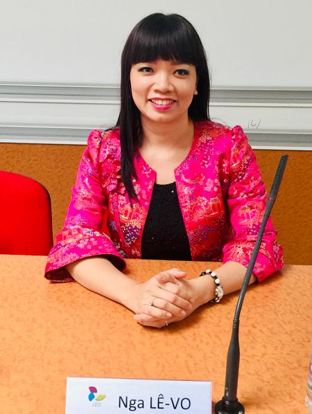 Chị Nga là một con người hành động và được xem như đại sứ văn hóa Việt Nam ở nước ngoài. Ảnh: Nhân vật cung cấp.