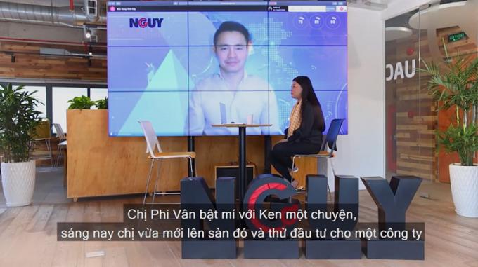 Ảnh chụp từ talkshow Nguy - Cơ 14.