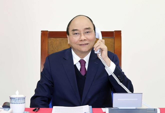 thu tuong Nguyen Xuan Phuc dien dam tong thong Trump anh 1