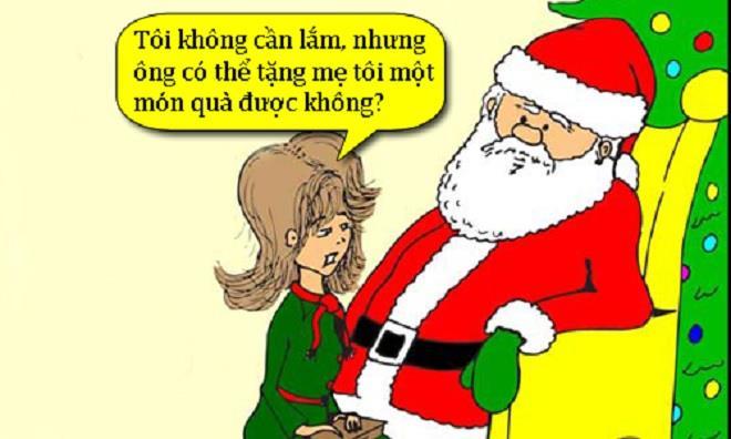 Khi ông già Noel bị gái đẹp đòi quà - 1