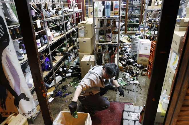 Nhật Bản: Động đất 7,3 độ richter là dư chấn của trận động đất 10 năm trước - 1