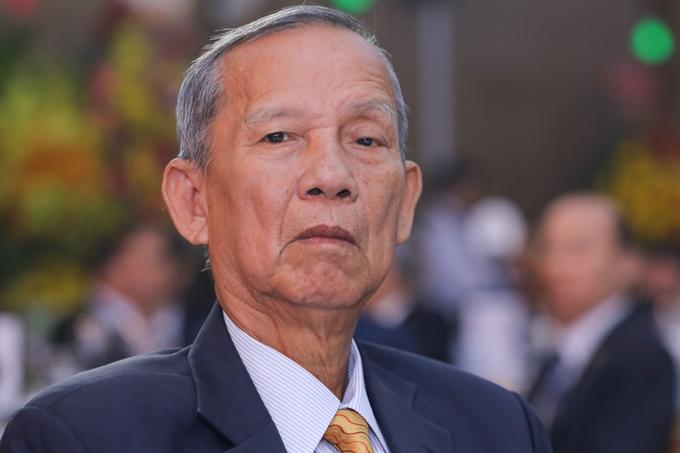 Nguyên Phó thủ tướng Trương Vĩnh Trọng tại một sự kiện ở TP HCM tháng 1/2020. Ảnh:Quỳnh Trần