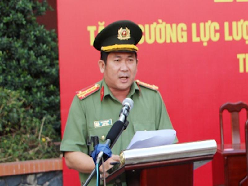 GĐ Công an An Giang nói về vụ tội phạm chi 20 tỉ 'đẩy' mình đi - ảnh 1