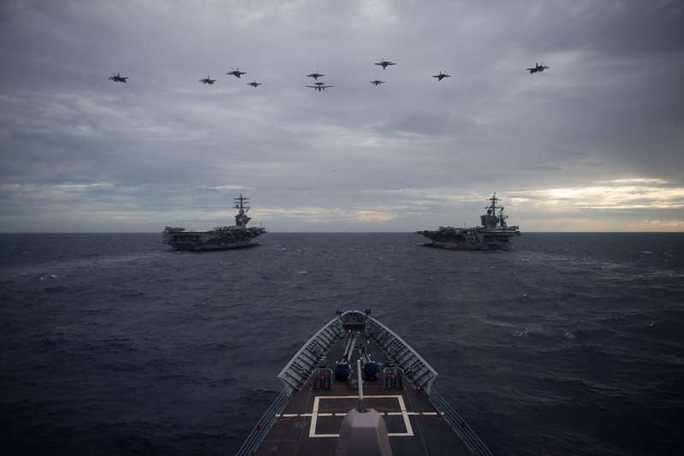 """Tổ chức SCSPI: Mỹ ép Trung Quốc tối đa"""" ở biển Đông - Ảnh 1."""