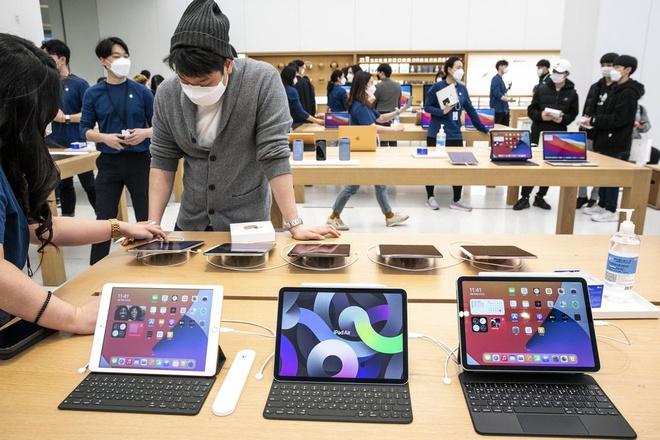 iPad Pro,  Apple,  Thunderbolt,  USB-C,  M1,  USB 4 anh 1