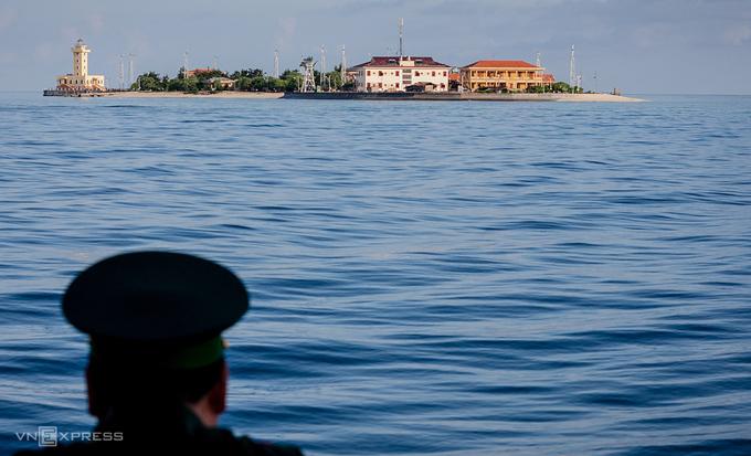 Đảo Sinh Tồn, huyện đảo Trường Sa, tỉnh Khánh Hòa. Ảnh: Nguyễn Thành.