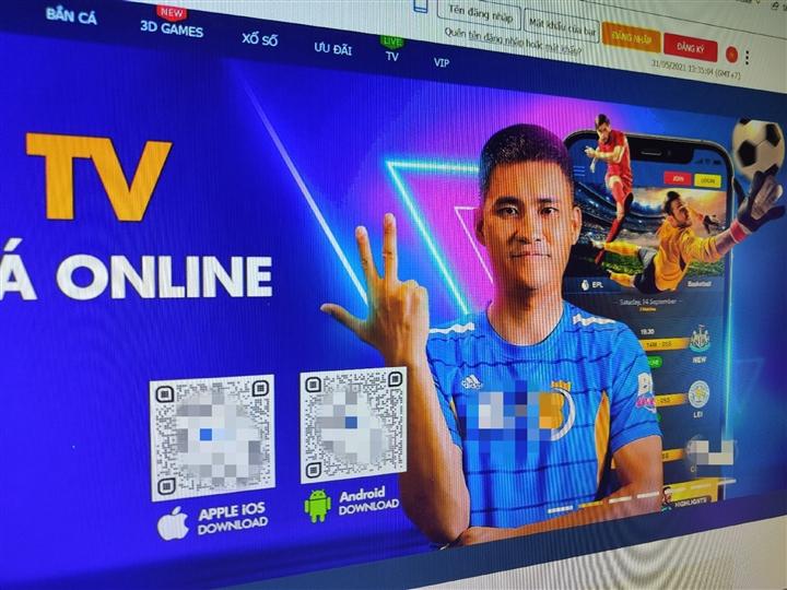 Công Vinh xuất hiện trong quảng cáo ứng dụng cá độ bóng đá - 3