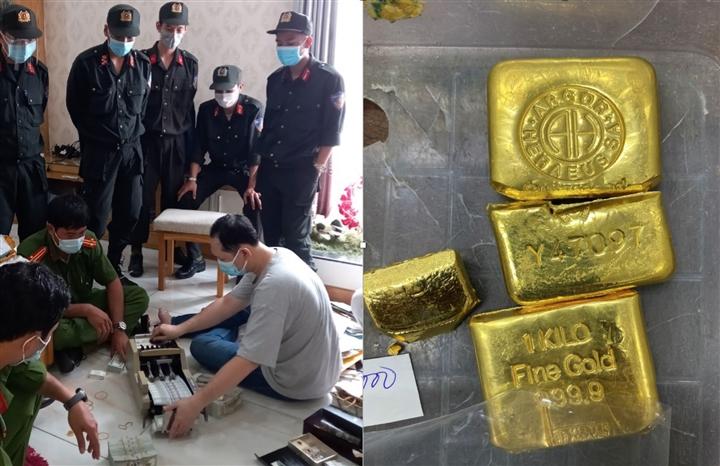 Khám xét 16 địa điểm liên quan trùm buôn lậu Mười Tường: Thu giữ thêm 36kg vàng - 2