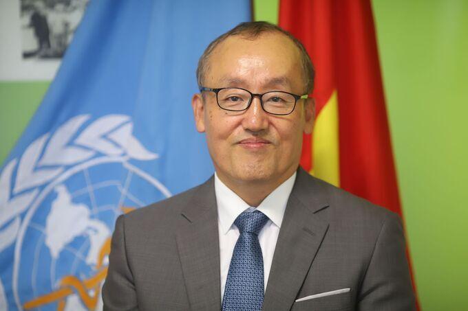 Ông Kidong Park, đại diện Tổ chức Y tế Thế giới tại Việt Nam. Ảnh: WHO cung cấp