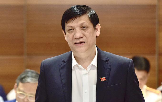 Ông Nguyễn Thanh Long - Bộ trưởng Bộ Y tế. Ảnh: Hoàng Phong