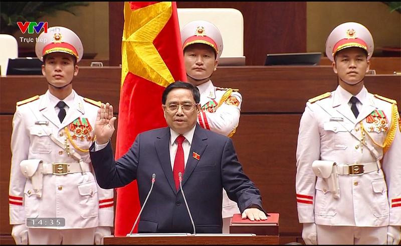 Ông Phạm Minh Chính tái đắc cử Thủ tướng Chính phủ - ảnh 2