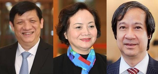 Trình Quốc hội phê chuẩn bổ nhiệm 26 thành viên Chính phủ, ai là người trẻ nhất? ảnh 2