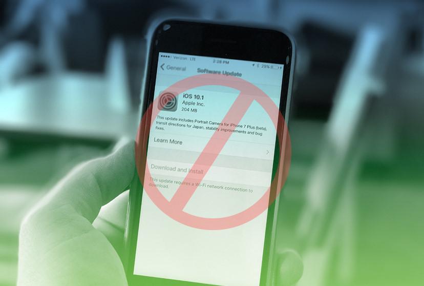 Thà iPhone hỏng, nhất quyết không lên iOS 11' Viễn thông