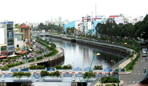 Kênh Nhiêu Lộc - Thị Nghè