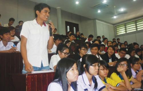 sinh viên chia sẻ bí quyết