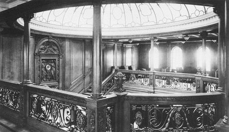 Ảnh chụp lại nội thất của tàu Titanic năm xưa