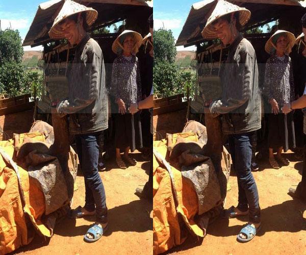 Ngay khi đăng quang, chàng trai dân tộc Chu Ru cho biết sẽ dành tiền thưởng để về quê nuôi lợn