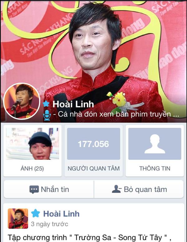 Những sao Việt có lượng fan ghé thăm
