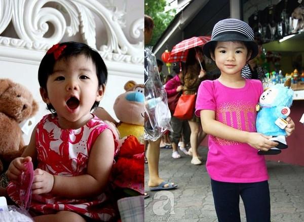 Ngắm quá trình lớn lên của các nhóc tì Sao Việt 4