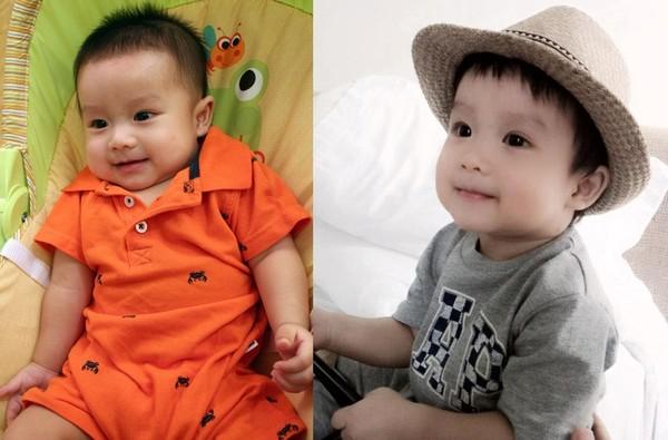 Ngắm quá trình lớn lên của các nhóc tì Sao Việt 7