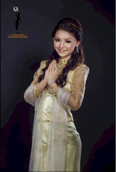 Hoa hậu Myanmar giống Hương Giang Idol đến bất ngờ | Hoa hậu Myanmar 2013,Khin Wint Wah,Hoa hậu thế giới