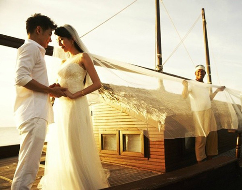 Lâm Chí Dĩnh đã bí mật tổ chức đám cưới - 4