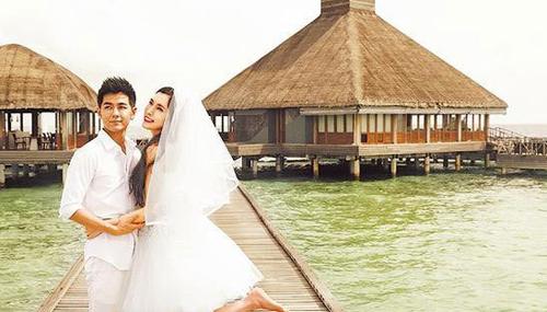 Ảnh đám cưới hơn 2 tỷ đẹp như mơ của Lâm Chí Dĩnh ở đảo Phuket | Lâm Chí Dĩnh,Lâm Chí Dĩnh đám cưới,Lâm Chí Dĩnh đám cưới đảo Phuket,Lâm Chí Dĩnh đám cưới hơn 2 tỷ,Lâm Chí Dĩnh và Trần Nhược Nghi