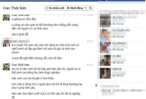 Cao Thái Sơn lại bị tung tin nhắn đồng tính - 5