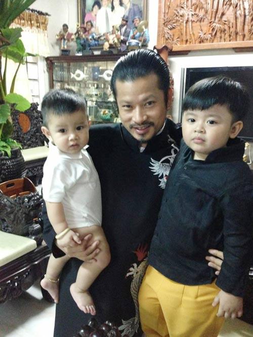 Quỳnh Chi tổ chức thôi nôi cho con trai - 3