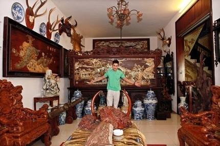 Bất ngờ với ngôi nhà ở quê của 'thiếu gia' Tùng Lâm