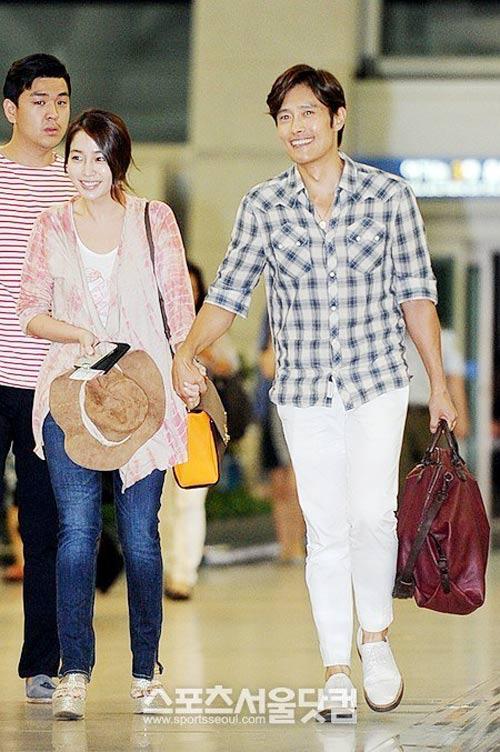 Bắt gặp vợ chồng Lee Byung Hun đi trăng mật - 6