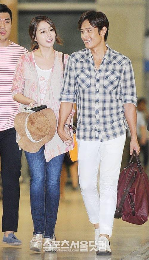 Bắt gặp vợ chồng Lee Byung Hun đi trăng mật - 5