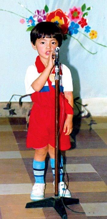 Noo Phước Thịnh đi hát từ khi còn rất bé nhưng anh chàng tỏ ra rất rụt rè, nhút nhát.