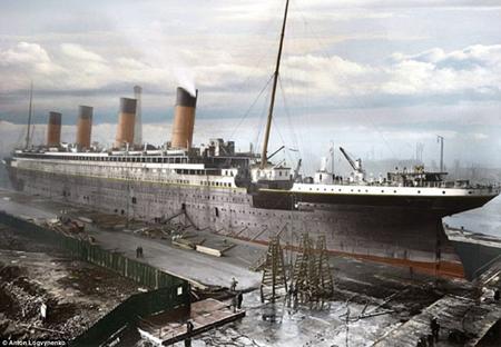 Hình ảnh Titanic trước ngày định mệnh
