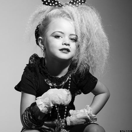 Nữ hoàng nhạc Pop Madonna. Người mẫu: Laila R.