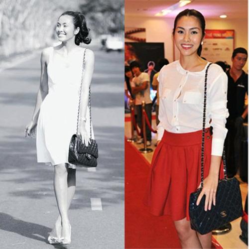 """""""Bóc mác"""" BST túi hàng hiệu của Tăng Thanh Hà - 5"""